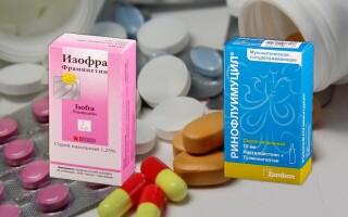 Ринофлуимуцил или Изофра — что лучше? Что скрывается за этими лекарствами?