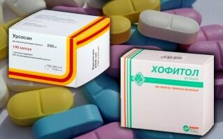 Что лучше: Урсосан или Хофитол? В чем разница между препаратами? Можно ли вместе? Отзывы