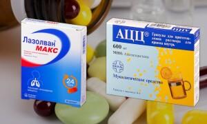 АЦЦ или Лазолван – что лучше? Что стоит знать об этих препаратах?