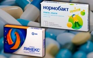 Нормобакт или Линекс: что лучше? Что выбрать для детей? Отличия препаратов