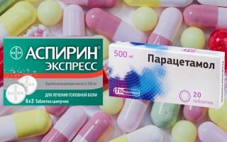 Что лучше: Аспирин или Парацетамол? Достаточно ли Вы знаете об этих препаратах?