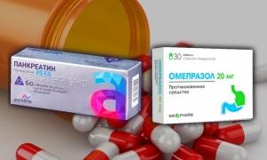 Что лучше Омепразол или Панкреатин? Можно ли вместе?