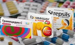 Что лучше: Стрепсилс, Граммидин или Грамицидин? Все «за» и «против» !