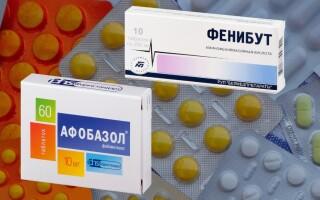 Что лучше: Фенибут или Афобазол. Сравнение препаратов.