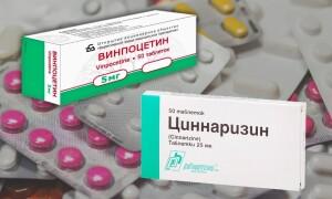 Циннаризин или Винпоцетин — что лучше? Можно ли принимать вместе?