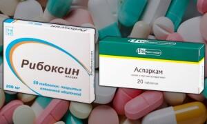 Рибоксин и Аспаркам – можно ли принимать вместе?