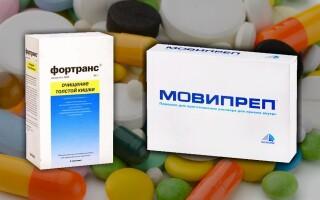 Что лучше: Мовипреп или Фортранс? В чем разница? Отзывы