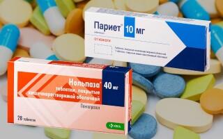 Нольпаза или Париет – что лучше? Отзывы врачей. Описание препаратов