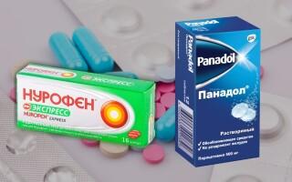 Что лучше: Панадол или Нурофен для детей?