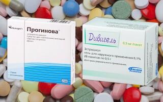 Что лучше: Прогинова или Дивигель? Что нам ожидать от этих лекарств?