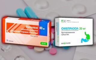 Что лучше: Нольпаза или Омепразол? В чем разница?