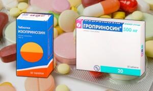 Гроприносин или Изопринозин – что лучше? В чем главное отличие?