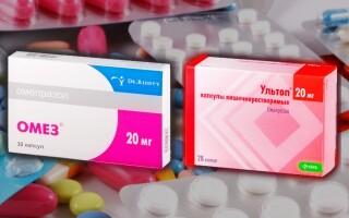 Что лучше: Ультоп или Омез? В чем разница между препаратами? Отзывы врачей