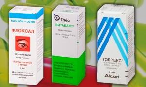 Что лучше — Глазные капли Тобрекс, Флоксал или Витабакт?